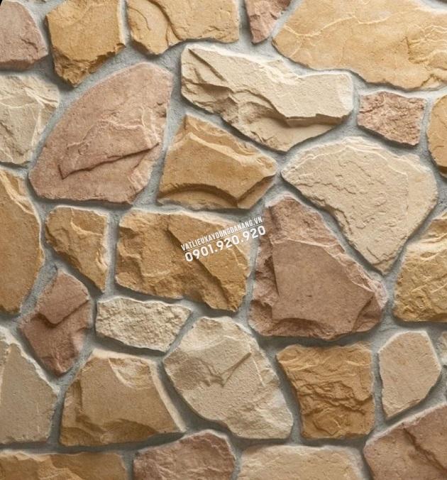 đá rối bạch mã ốp tường