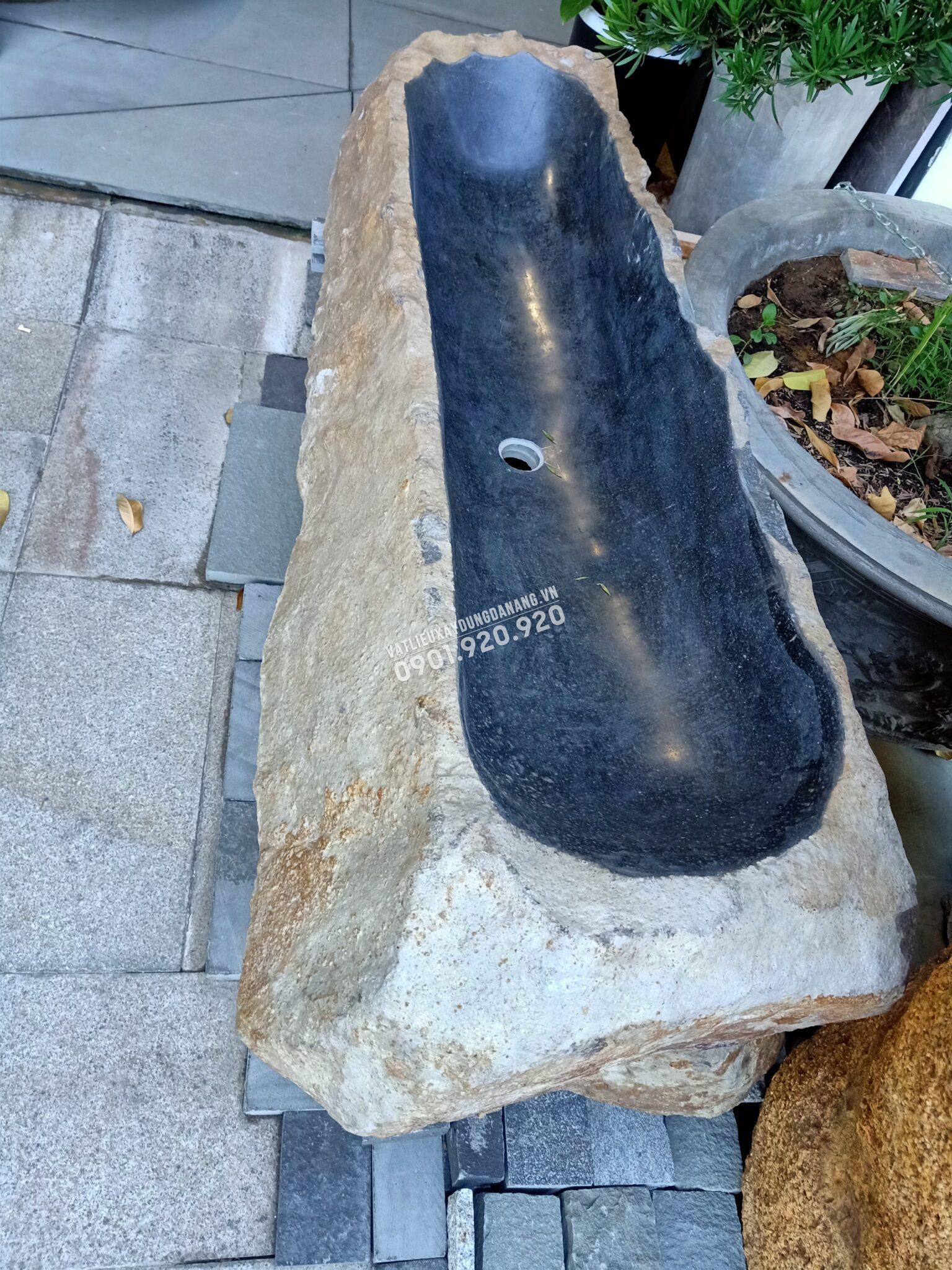 lavabo đá Bazan dáng dài